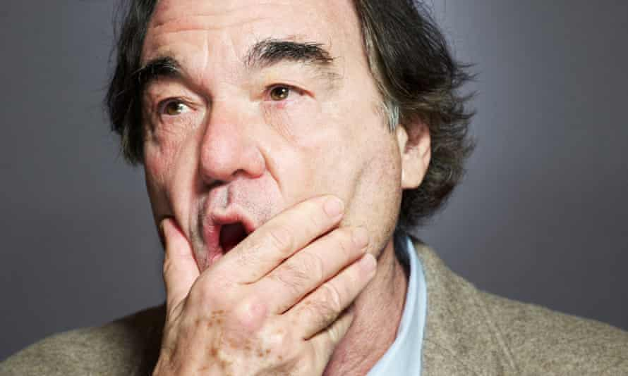 Oliver Stone: 'Everything I did was examined by a certain light. And as an artist it's very limiting.'