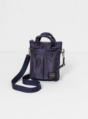 Travelling lightHandmade in Japan from lightweight nylon twill, Porter Yoshida & Co's bags adapt to your needs.  From £150, couvertureandthegarbstore.com