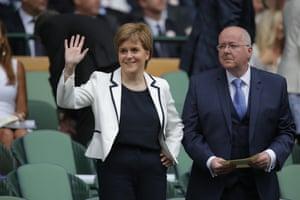 Nicola Sturgeon and her husband