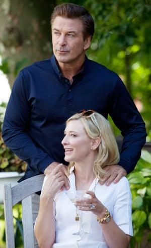 Alec Baldwin and Cate Blanchett in Blue Jasmine.