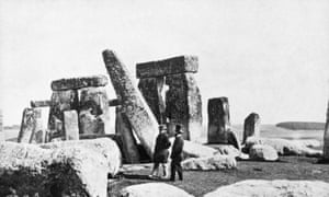 Stonehenge in about 1870