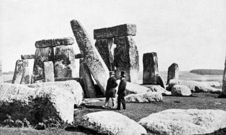 Stonehenge, circa 1870.