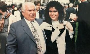 Zygmunt Nowicki at his daughter's graduation