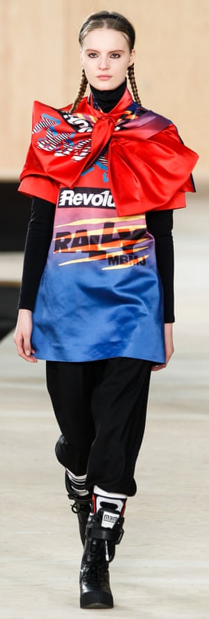 A Bartley and Hillier design for Marc by Marc Jacobs, at New York fashion week, February 2014.