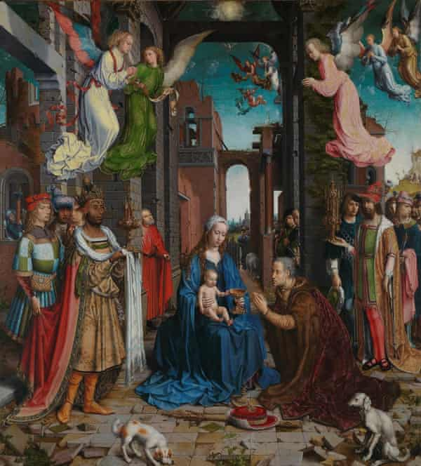 The Adoration of the Kings, 1510-15, by Jan Gossaert