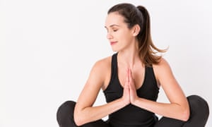 My goofy online yoga teacher has indoctrinated me into her