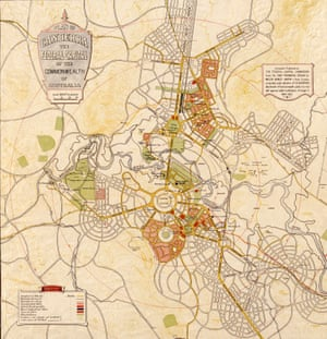 A plan of Canberra from 1927.