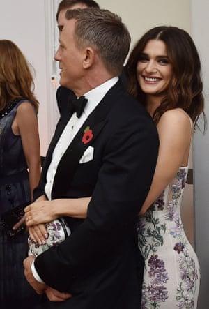 Weisz with her husband, James Bond actor Daniel Craig.