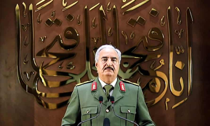Khalifa Haftar, head of the self-proclaimed Libyan National Army, had said he will stand for the presidency.