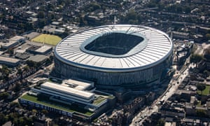 There will be no cheese room at Tottenham's new stadium.