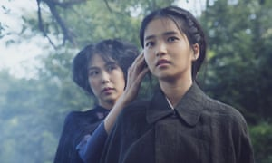 Glitteringly strange and sexy ... Min-Hee Kim and Tae-Ri Kim in The Handmaiden.