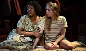 Anastacia McCleskey plays May and Elizabeth Teeter is Lily in The Secret Life of Bees.