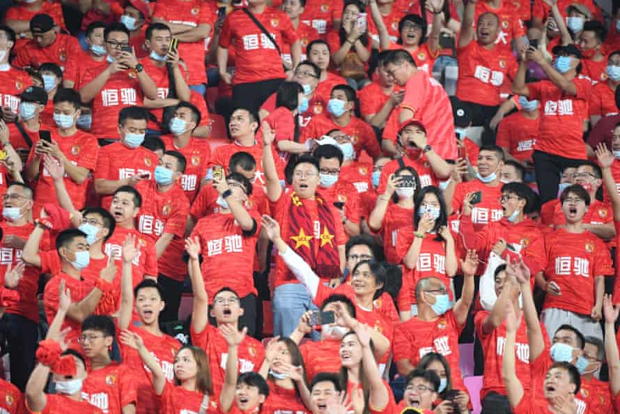 Fans of Guangzhou FC are unsure what the future holds for the club.