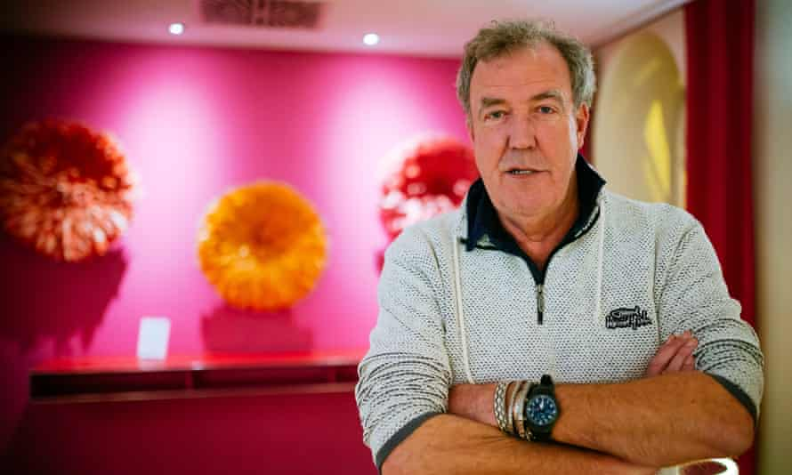 Jeremy Clarkson, who owns a 400-hectare arable farm in Oxfordshire.