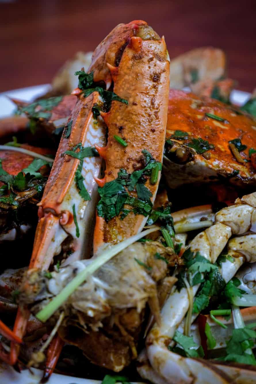 Jack Stein's Singapore Chilli Crab with Vegemite