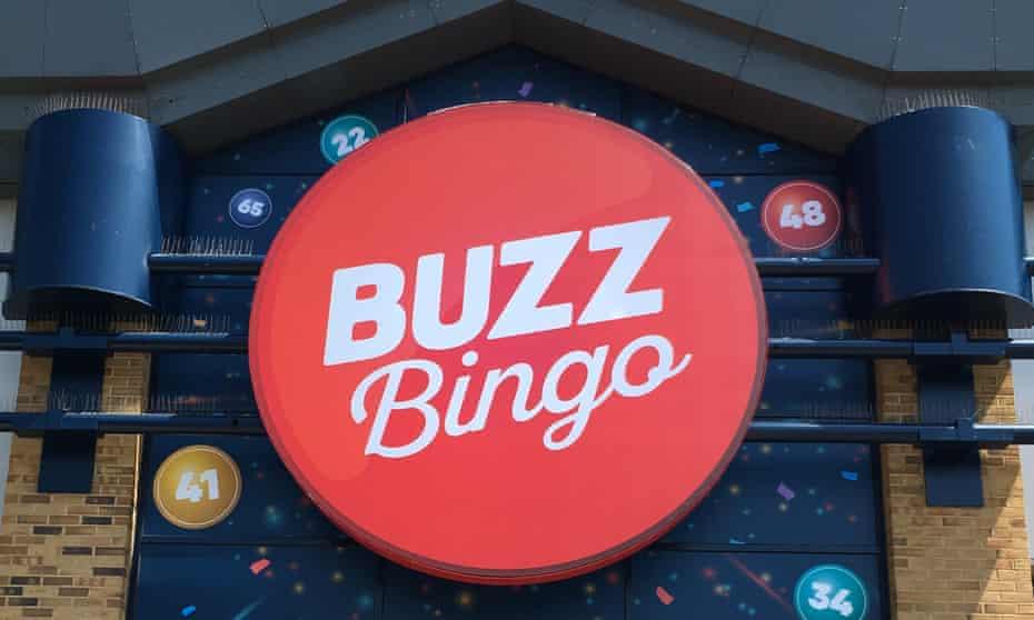 A Buzz Bingo hall in Enfield, London