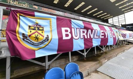 Burnley's Turf Moor stadium, where the club have not scored a Premier League goal this season.