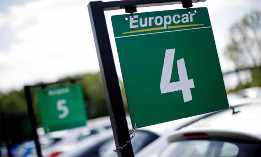 Europcar car rental return site