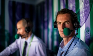 Andy Murray appeared to be a natural in his stint in the BBC commentary box alongside Andrew Cotter at Wimbledon last year.