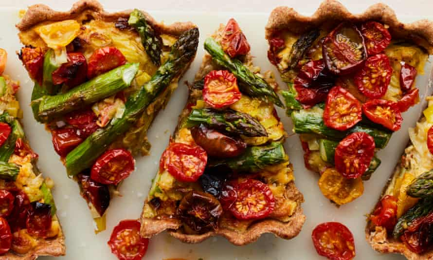 The quiche rebrand starts here, with Anna Jones's vegetable tart.