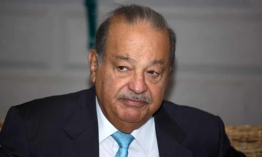Carlos Slim owns 17% of the New York Times, making him its largest shareholder.
