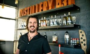 Andrew Rall, distiller and founder of Distillery 031, Durban, South Africa