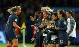 Amandine Henry gets number four.