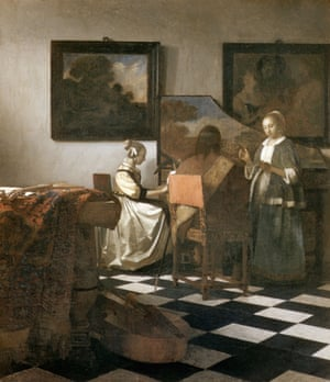 The Concert by Jan Vermeer, stolen from the Boston museum in 1990.