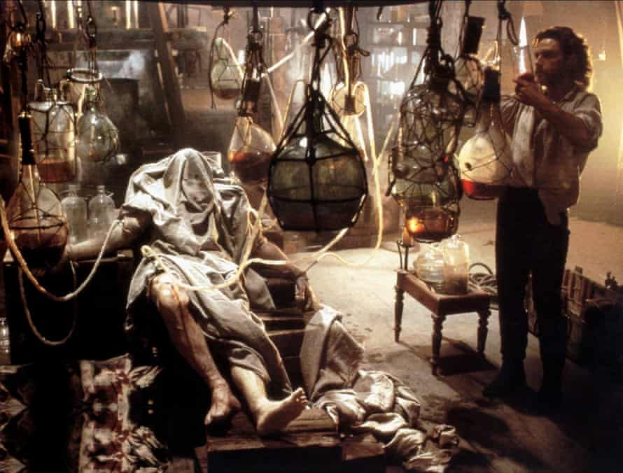 The nature of life … Kenneth Branagh as Victor Frankenstein in the 1994 film adaptation.