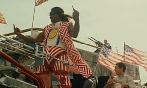 Terry Crewes as President Camacho: unnerving parallels