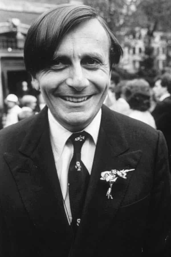 At his wedding in 1979.