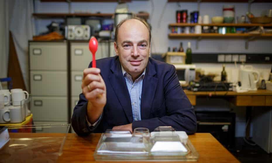 Frenetic conviviality': gastrophysics guru Charles Spence.