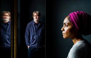 Nigel Slater and Nadiya Hussain composite
