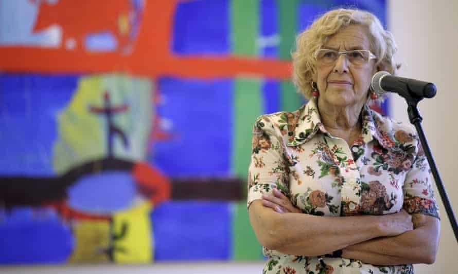 Manuela Carmena, the mayor of Madrid.