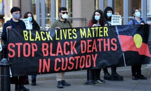 BLM protest outside Sydney court