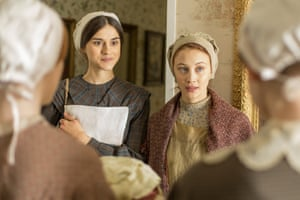 Netflix's Alias Grace … stained and faded fabrics to reflect the characters' lives.