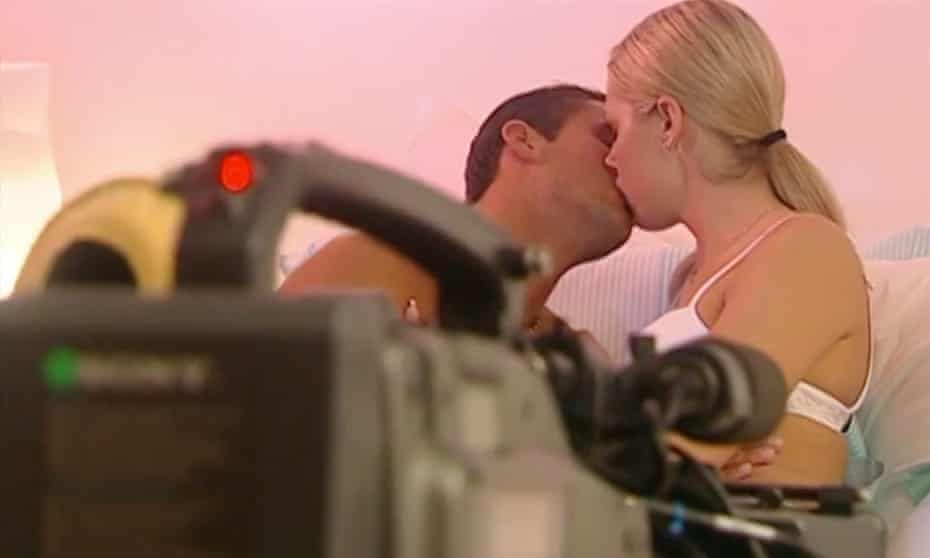 A version of The Lovers' Guide being filmed.