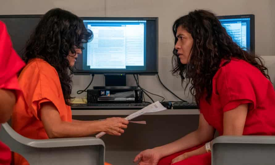 Karina Arroyave and Laura Gomez in Orange is the New Black