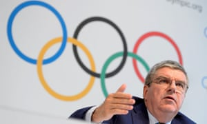 Thomas Bach gave a limited number of Russian athletes a chance to race for their country in Brazil despite a ban.