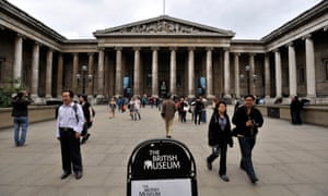 The British Museum in London has revealed it has lost a £750,000 Cartier diamond ring.