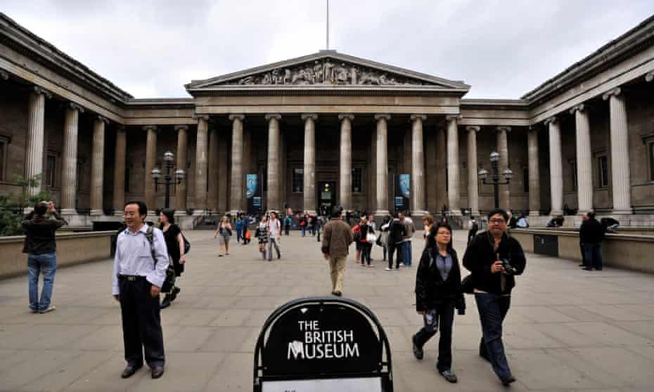 The British Museum in Bloomsbury