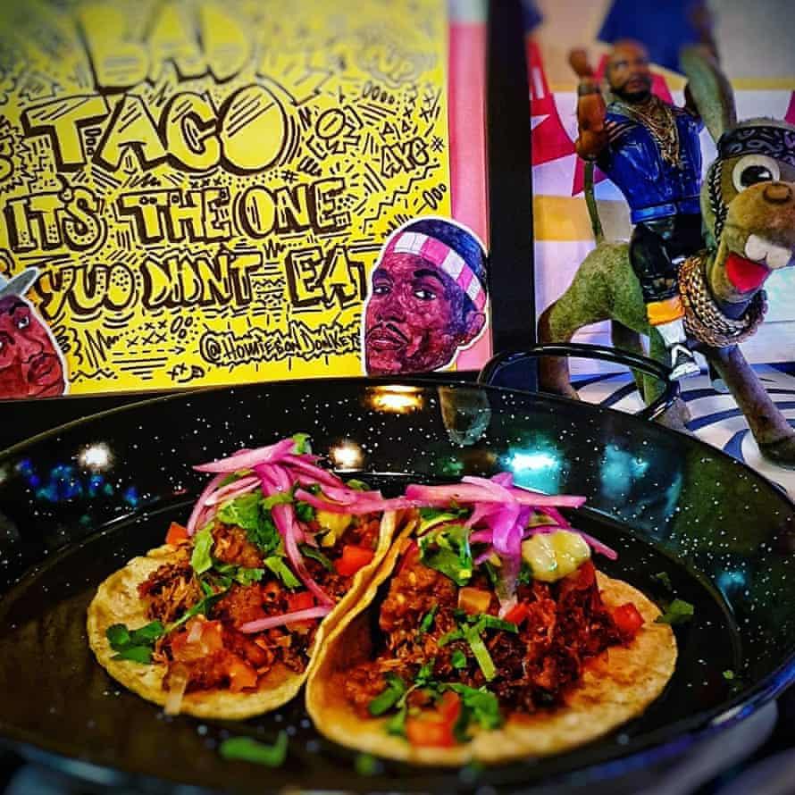 tacos at Homies on Donkeys, Walthamstow