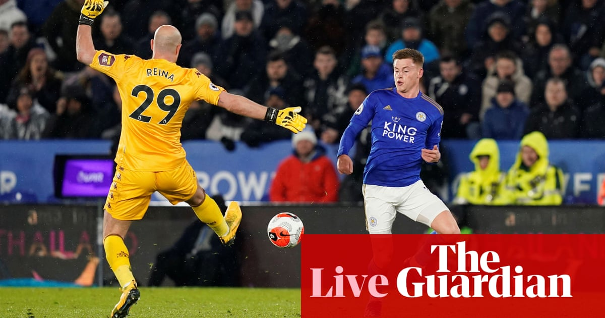 Leicester City v Aston Villa: Premier League – live ...