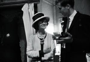 Coco Chanel with photographer Douglas Kirkland