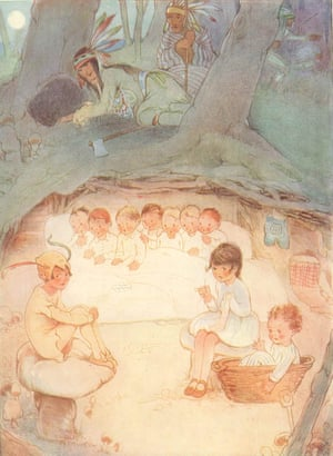 Illustration by Mabel Lucie Attwell from Peter Pan and Wendy by JM Barrie, 1921