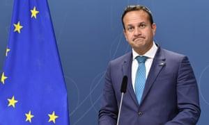 The Irish PM, Leo Varadkar.