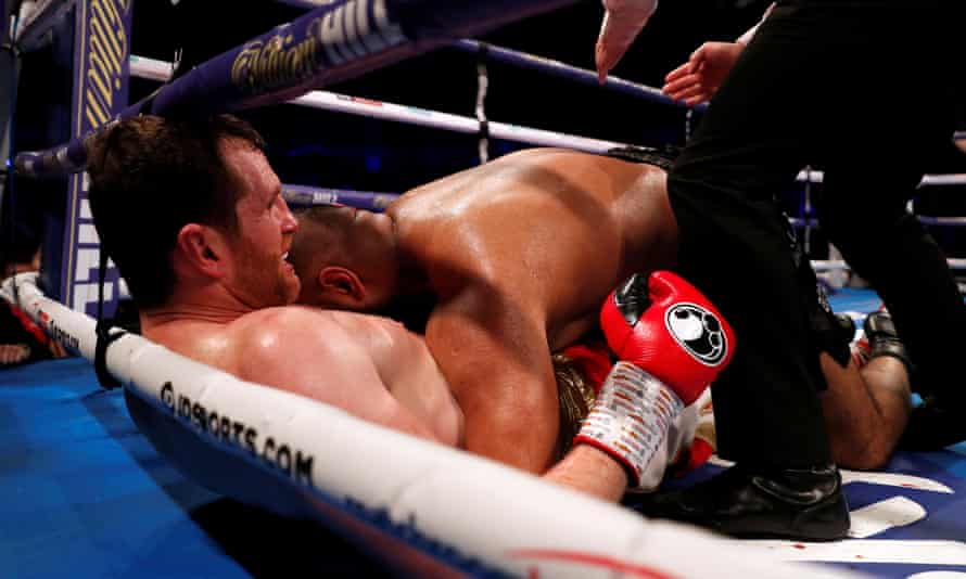 Kash Ali was accused of biting David Price during their heavyweight bout.