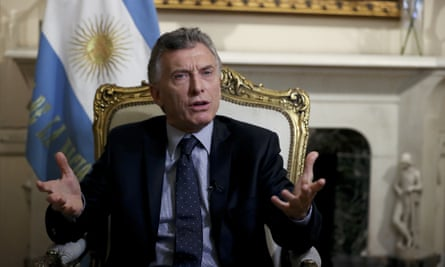 Mauricio Macri: analysts say that after Argentina went to the IMF for a $57bn bailout this year, the president has nowhere to go but up.