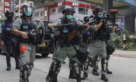 Hong Kong tensions end winning streak for global stock markets - business live