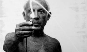 Guiding light … Pablo Picasso.